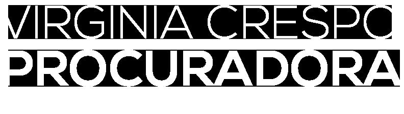 PROCURADORA VIRGINIA CRESPO